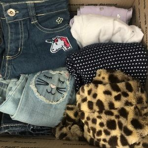 Girls 5/6 lot of 9 pieces